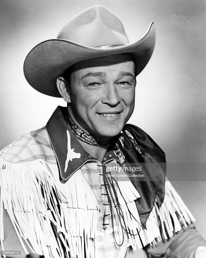 3f810b071be American singer and cowboy actor Roy Rogers circa 1955