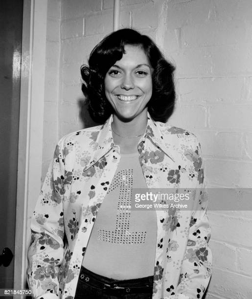 American singer and drummer Karen Carpenter
