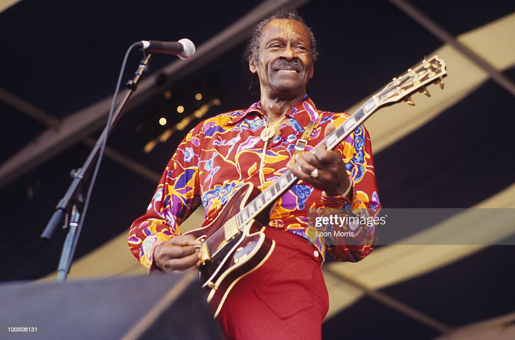 Chuck Berry Performs At New Orleans