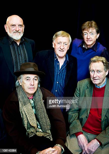 American singer and guitarist Ry Cooder with Irish band The Chieftains 26th January 2010