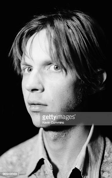 American singer and musician Beck in Marseille France in April 1996