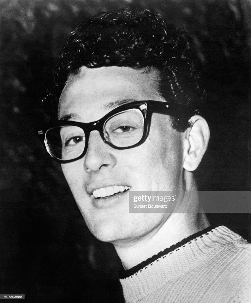 American Singer and Musician Buddy Holly : News Photo