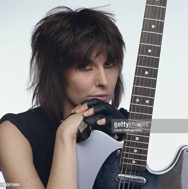 American singer and musician Chrissie Hynde circa 1985