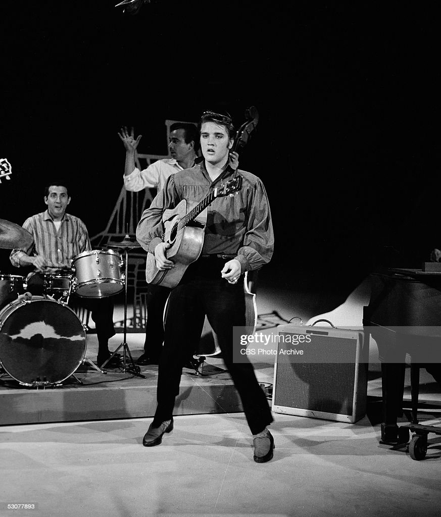 First appearance by Elvis on Ed Sullivan Show