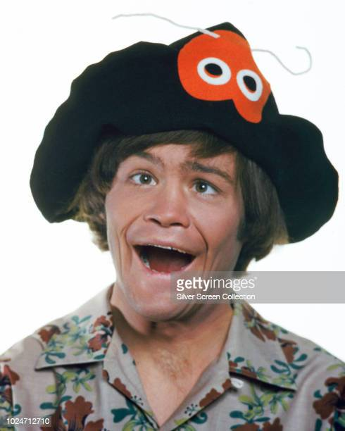 American singer and musician Micky Dolenz stars in the television series 'The Monkees' circa 1967