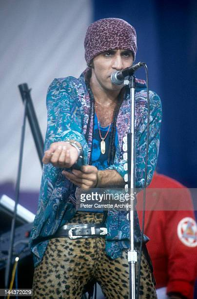 American singer and musician Steven Van Zandt aka Little Steven performs on stage during the Amnesty International 'A Conspiracy of Hope' tour at...