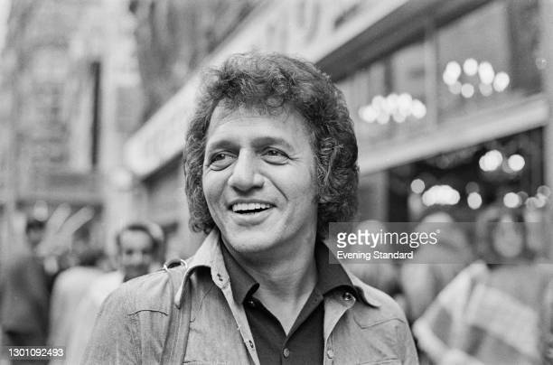American singer and pianist Buddy Greco , UK, 7th August 1973.