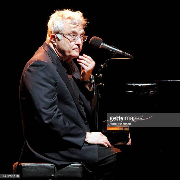 American singer and pianist Randy Newman performs live during a concert at the Admiralspalast on March 13 2012 in Berlin Germany