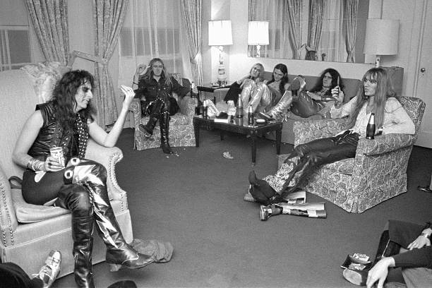 american rock band alice cooper pictures getty images. Black Bedroom Furniture Sets. Home Design Ideas