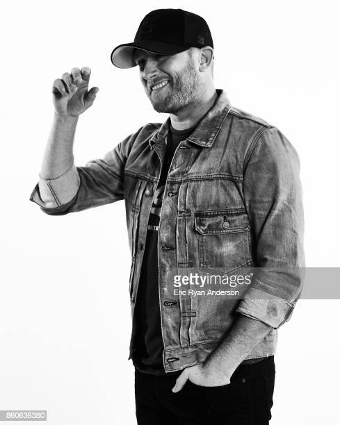 American singer and songwriter Cole Swindell is photographed at the 2017 CMA Festival for Billboard Magazine on June 8 2017 in Nashville Tennessee