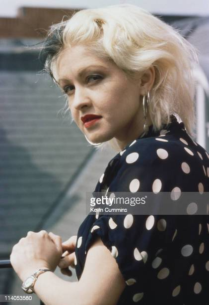 American singer and songwriter Cyndi Lauper circa 1980