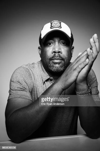 American singer and songwriter Darius Rucker is photographed at the 2017 CMA Festival for Billboard Magazine on June 8 2017 in Nashville Tennessee