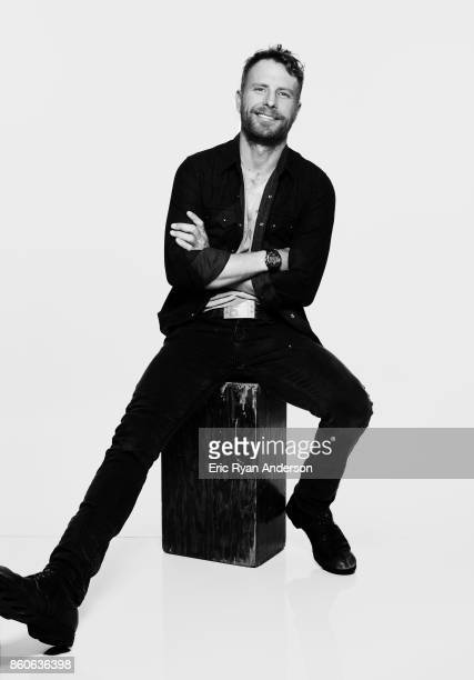 American singer and songwriter Dierks Bentley is photographed at the 2017 CMA Festival for Billboard Magazine on June 8 2017 in Nashville Tennessee