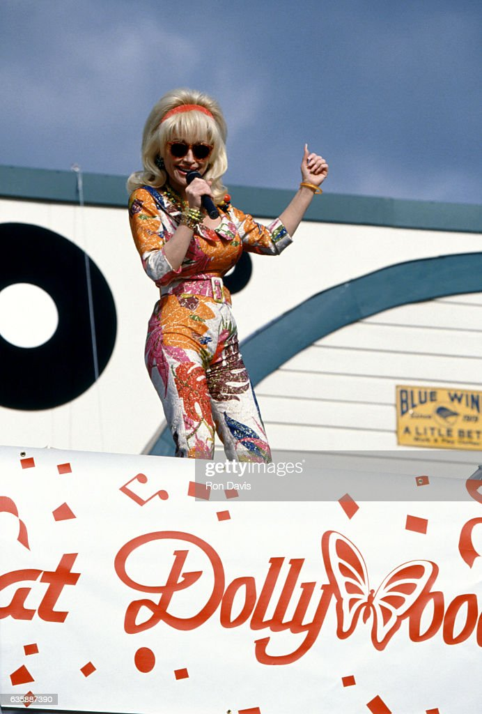 10th Anniversary of Dollywood Theme Park : News Photo