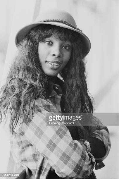 American singer and songwriter Donna Summer UK 21st October 1977