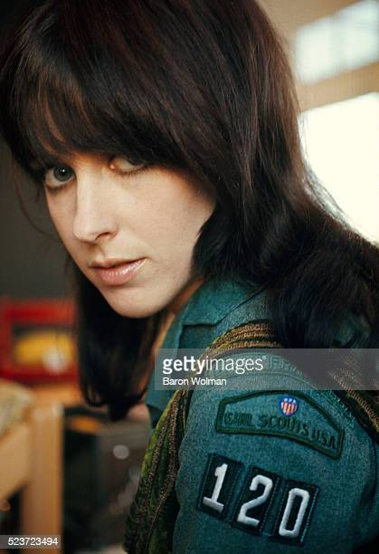 American singer and songwriter Grace Slick is best know as one of the lead singers of Jefferson Airplane and for her work as a solo artist She poses...