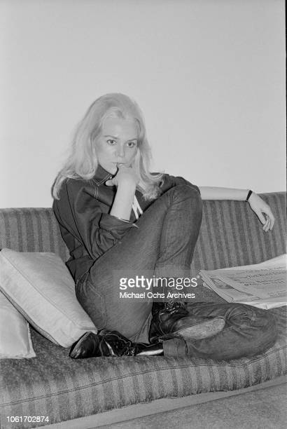 American singer and songwriter Jackie DeShannon in New York City circa 1964