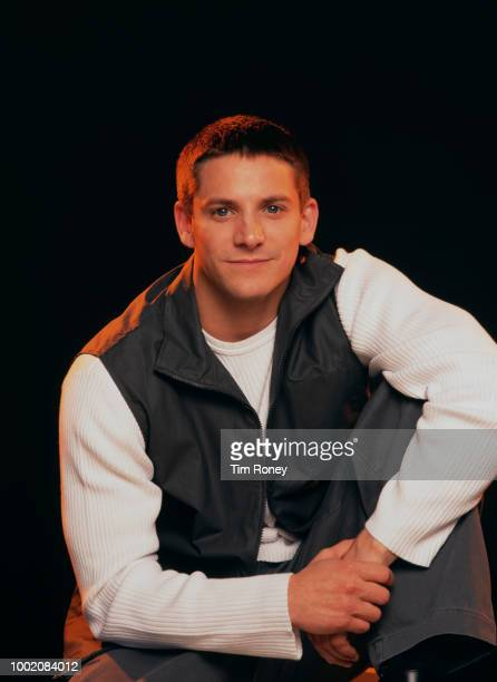 American singer and songwriter Jeff Timmons of boy band 98 Degrees circa 1995