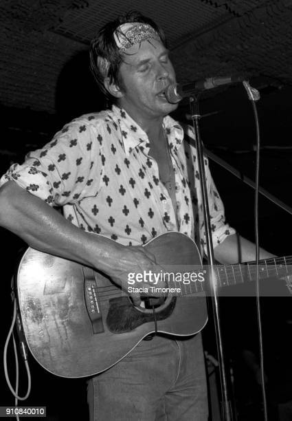 American singer and songwriter John Doe performs on stage at Lounge Ax in Chicago Illinois 17th August 1990