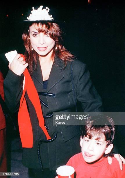 American singer and songwriter Paula Abdul circa 1992