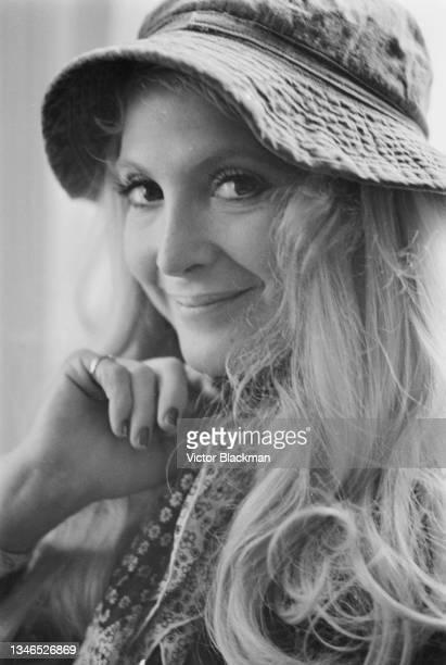 American singer and songwriter Priscilla Paris , UK, 3rd October 1974.