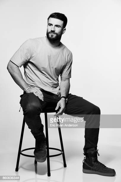 American singer and songwriter Sam Hunt is photographed at the 2017 CMA Festival for Billboard Magazine on June 8 2017 in Nashville Tennessee