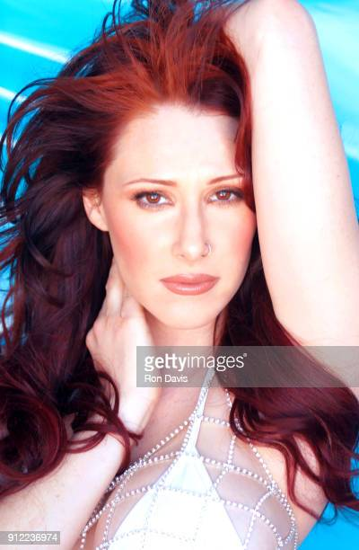 American singer and songwriter Tiffany poses for a portrait circa 2000 in Los Angeles California