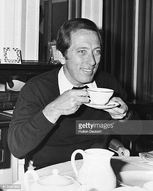 American singer Andy Williams arrives in London with his estranged wife Andy Williams the American singer and his estranged wife Frenchborn Claudine...