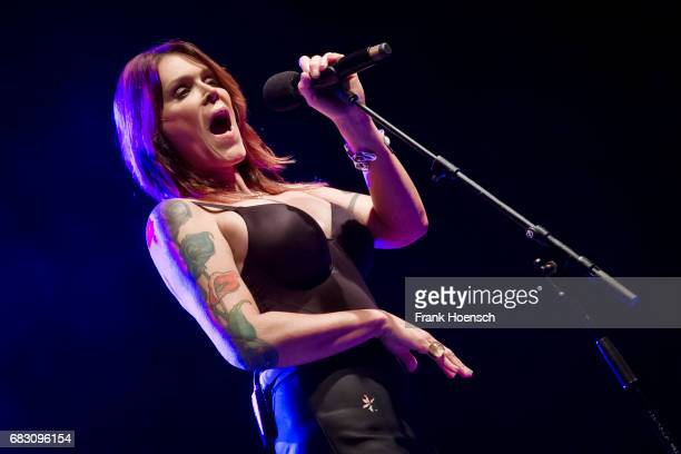 American Singer Beth Hart performs live on stage during a concert at the Columbiahalle on May 14 2017 in Berlin Germany