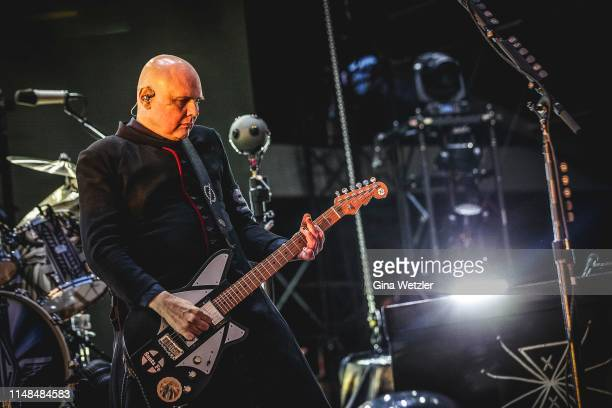 American singer Billy Corgan of The Smashing Pumpkins performs live on stage during Rock am Ring at Nuerburgring on June 7, 2019 in Nuerburg, Germany.