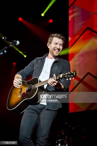 American singer Brett Eldredge performs live on stage during the Country To Country Festival at the Verti Music Hall on March 2 2019 in Berlin Germany