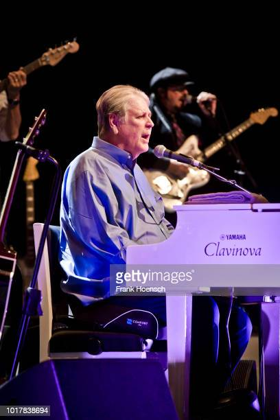American singer Brian Wilson performs live on stage during a concert at the Admiralspalast on August 16, 2018 in Berlin, Germany.