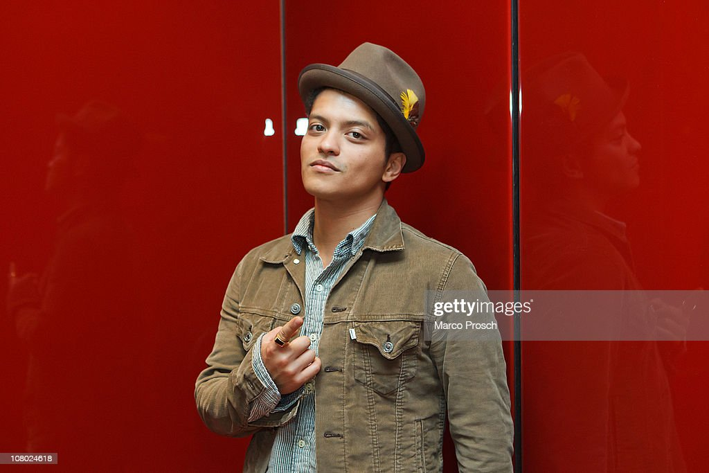 Man of style bruno mars photo album getty images american singer bruno mars poses during a portrait session on january 13 2011 in berlin publicscrutiny Choice Image