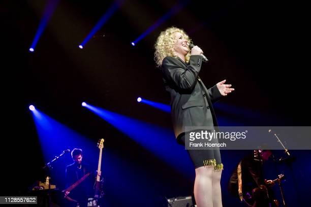 American singer Camaron Marvel Ochs aka CAM performs live during a concert at the Country To Country Festival on March 3 2019 in Berlin Germany