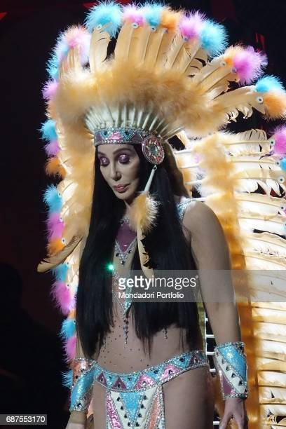 American singer Cher performs at Mgm National Harbor during her show Classic Cher Washington March 17 2017