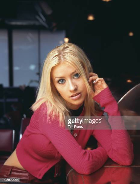 American singer Christina Aguilera circa 1995