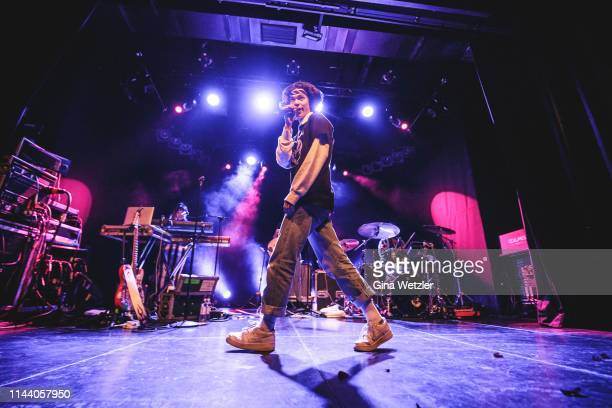American singer Conan Gray performs onstage at Columbia Theater on May 16 2019 in Berlin Germany