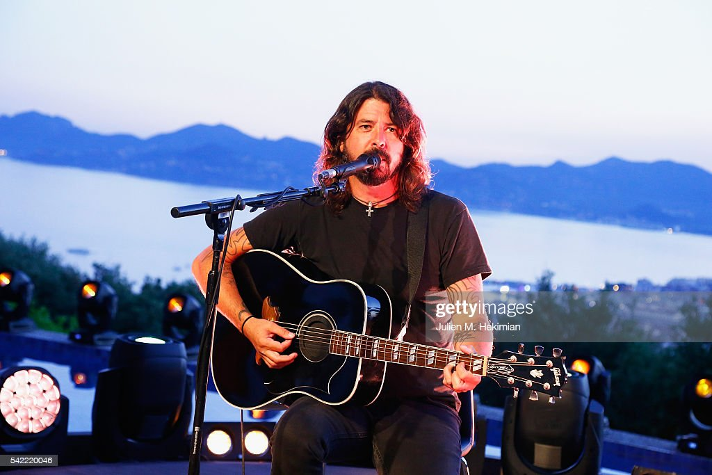 Live Nation And Citi Present A Special Evening With Dave Grohl At Cannes Lions : News Photo