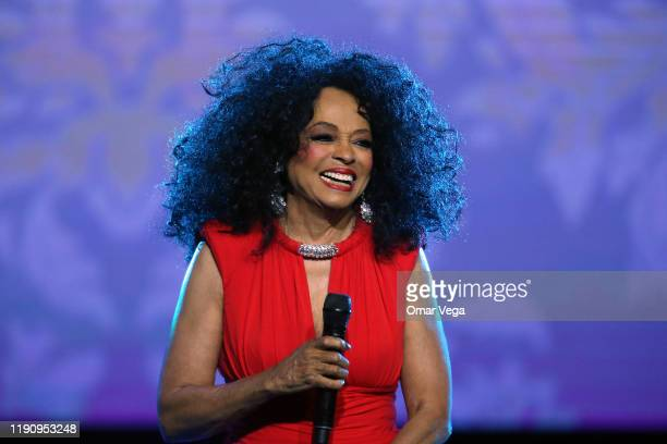 American singer Diana Ross performs on stage during the 2019 World AIDS Day Concert Keep the Promise of AIDS Healthcare Foundation at The Bomb...