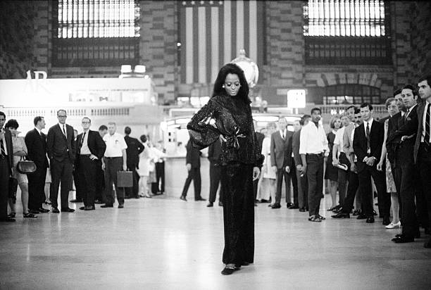 Diana Ross In Grand Central