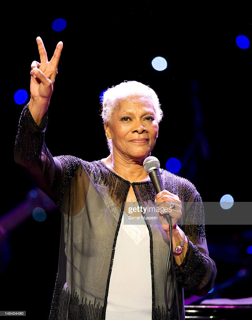 Dionne Warwick performs during the World Hunger Day in Support Of The Hunger Project concert with Dionne Warwick and friends at The Royal Albert Hall on May 28, 2012 in London, England.