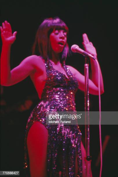 American singer Donna Summer performs live on stage in Washington DC United States in November 1978