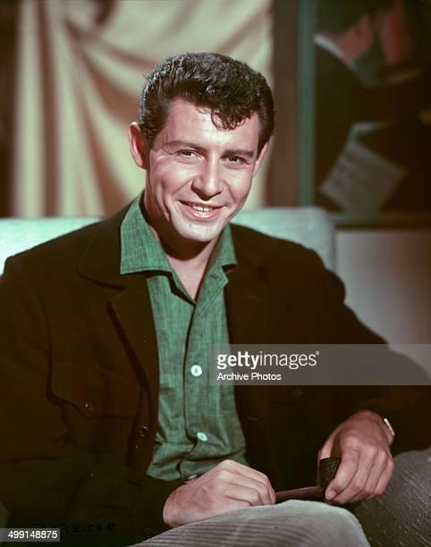 American singer Eddie Fisher , circa 1960.