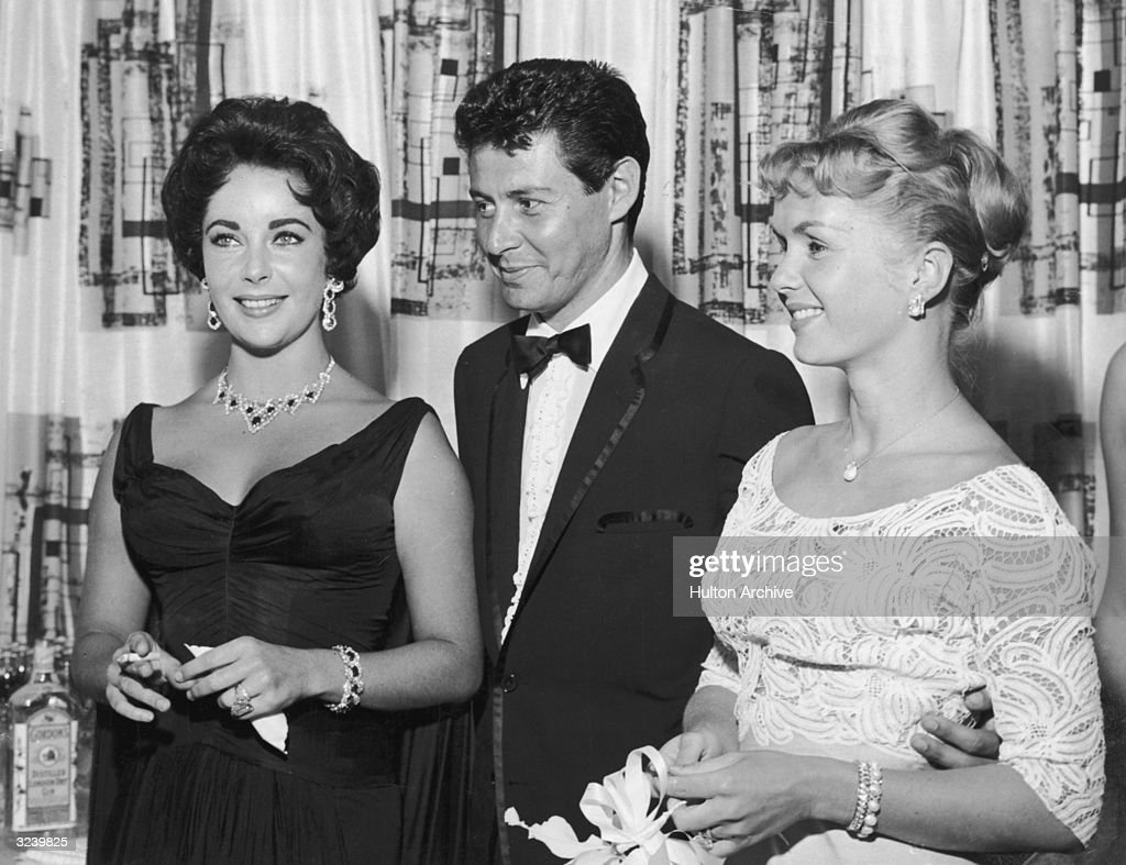 With Eddie Fisher : News Photo