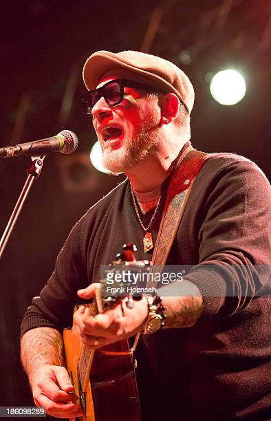 American singer Erik Schrody aka Everlast performs live during a concert at the Huxleys on October 25 2013 in Berlin Germany