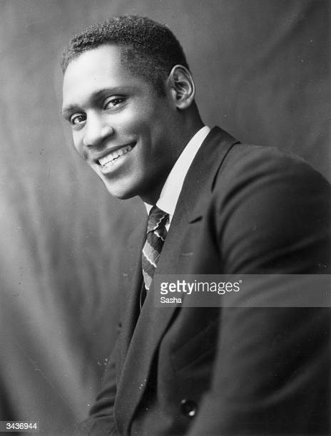 American singer film and stage actor Paul Le Roy Robeson