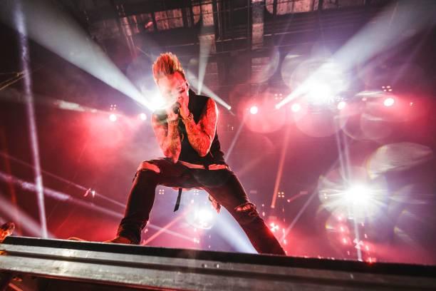 DEU: Papa Roach Perform In Berlin