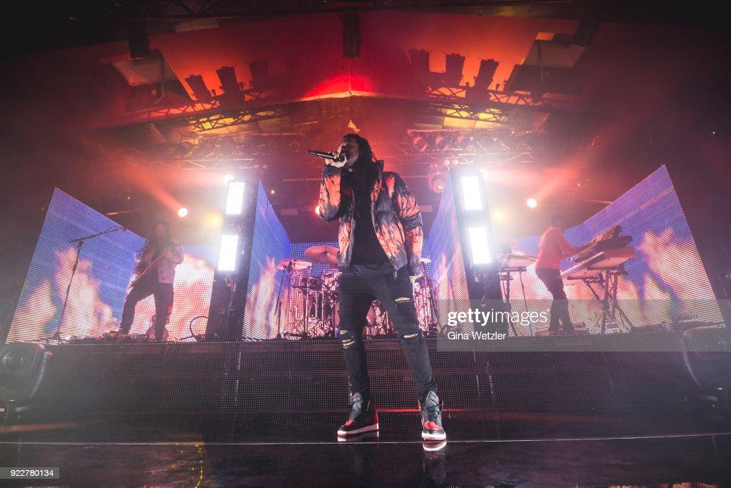 PartyNextDoor Perform In Berlin : News Photo