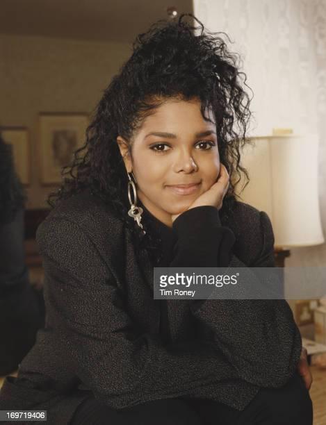 American singer Janet Jackson circa 1990