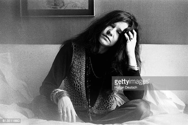 American singer Janis Joplin in London 1969 1969 Portrait of Janis Joplin